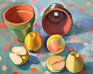 8. Pots and apples